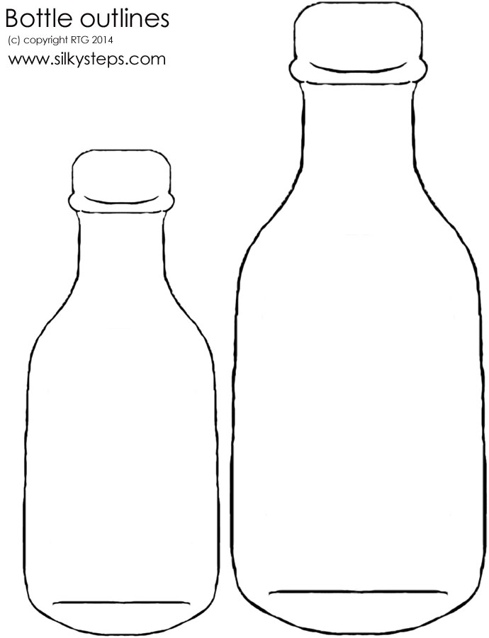 Bottle outline templates