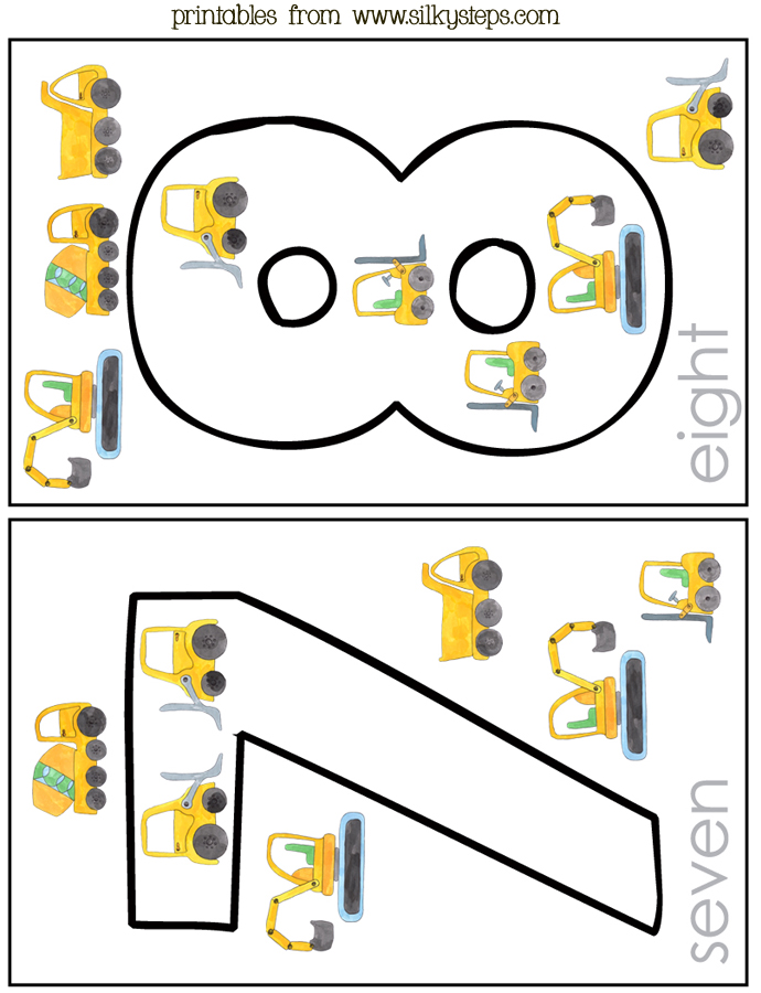 graphic regarding Rhyming Flash Cards Printable named 5 5 structure cars upon a developers website - preschool