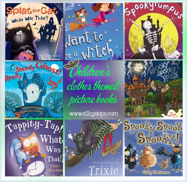 halloween preschool picture story book list