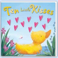 10 little kisses valentiness day picture book