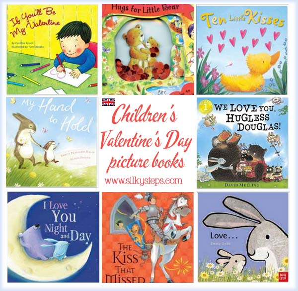 Valentine S Day Preschool Picture Story Books I Love You Stories
