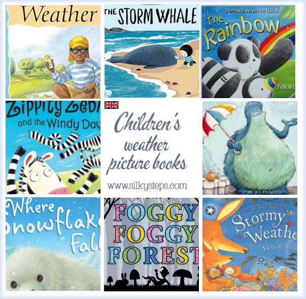 20 Great Weather Themed Books for Children